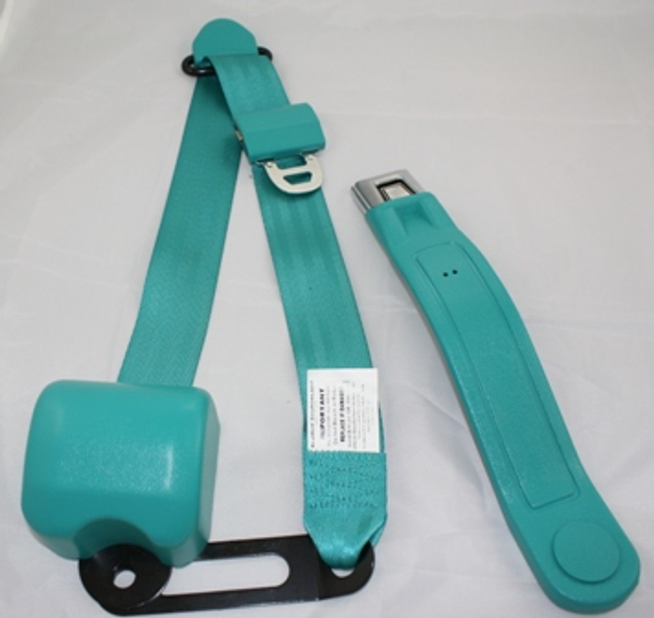 3-Point Color Matched Seat Belts