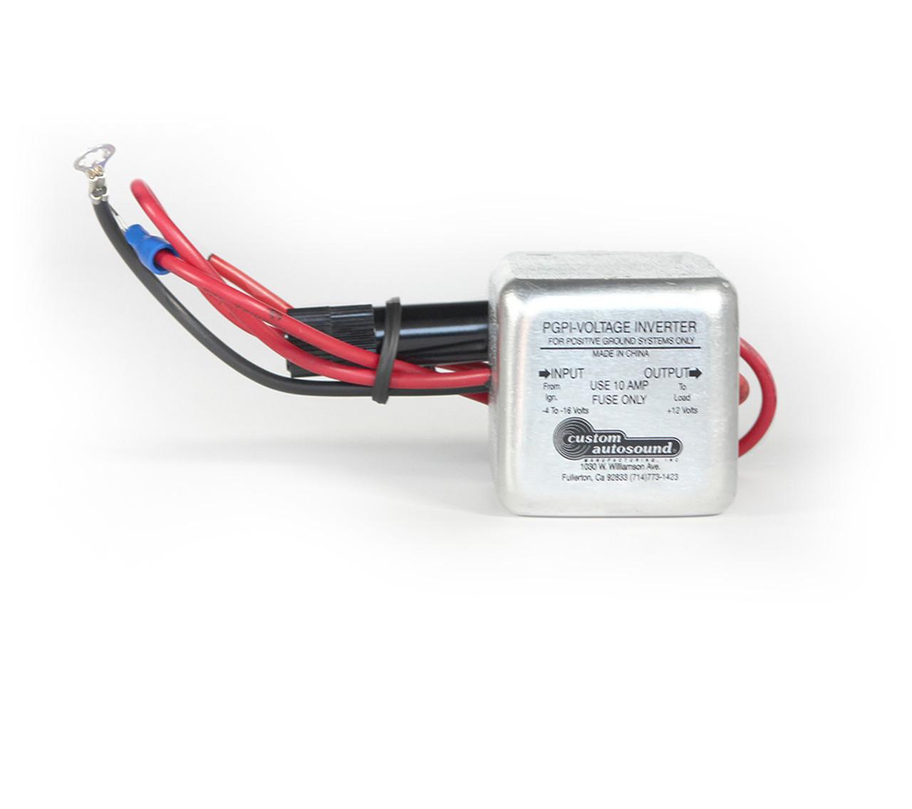 Custom AutoSound Power Inverter 1