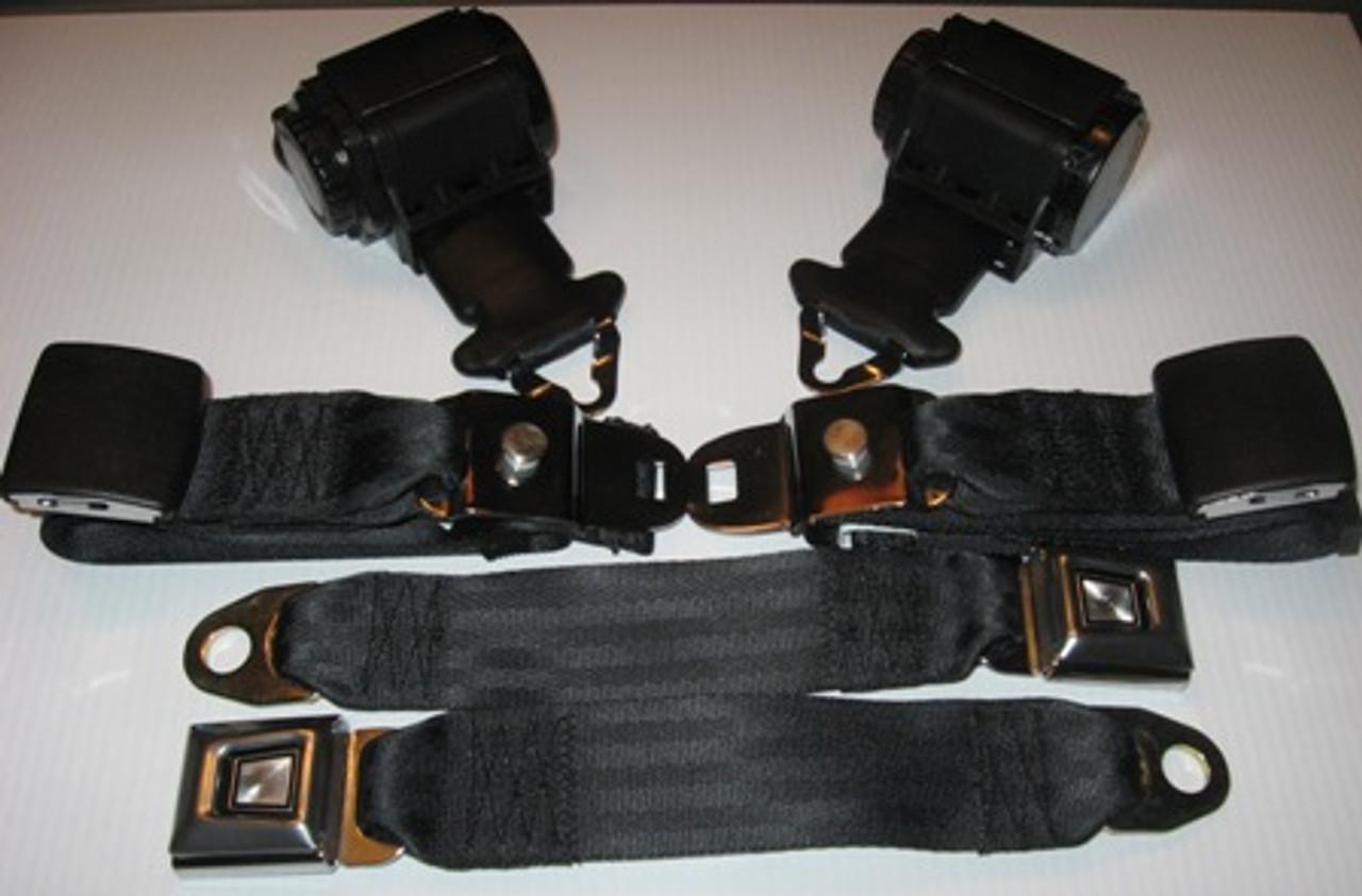 C3 Corvette 69-71 OE Style Lap & Shoulder Belts