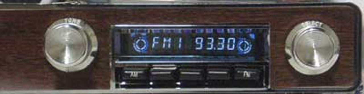 Performance Years Direct Fit AM/FM Stereo for 1968-72 Grand Prix