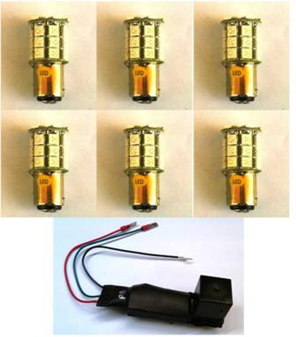 Impala LED Sequential Tail light Kit - MP-63-IMP-SEQ-BKUP LED