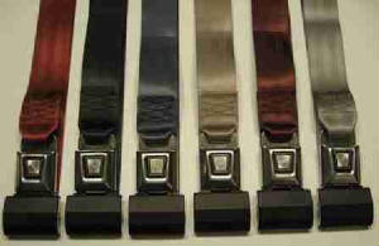 Lap Belts Metal Push Button Lap Belts