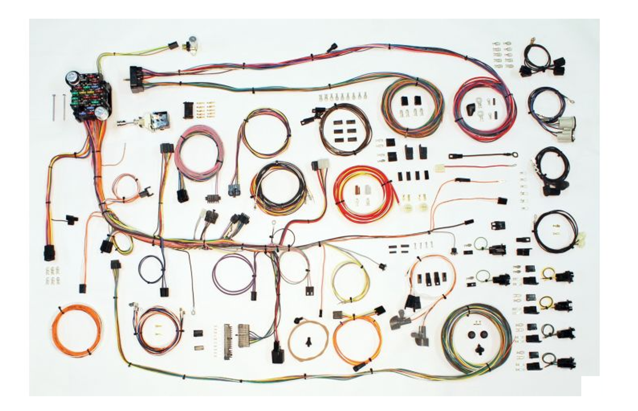 American Autowire 1969 Pontiac Firebird Classic Update Complete Wiring Harness