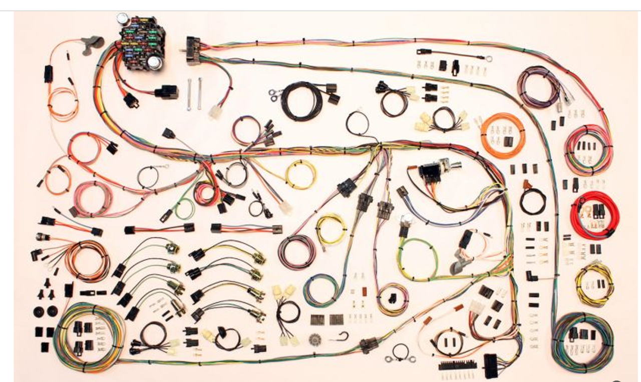 American Autowire 1967-75 Mopar A Body Classic Update Complete Wiring Harness