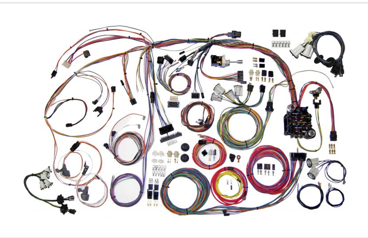 American Autowire 1970-72 Chevy Monte Carlo Classic Update Complete Wiring Harness