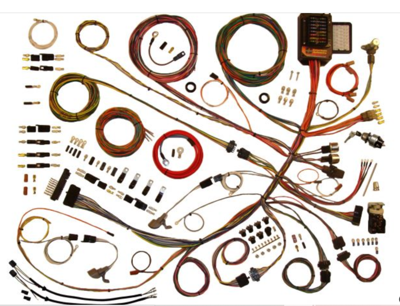 American Autowire 1953-56 Ford Truck Classic Update Complete Wiring Harness