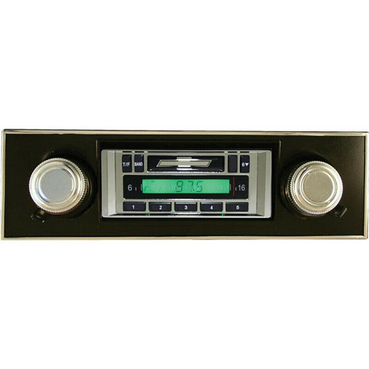 Custom AutoSound USA-630 for a Malibu In Dash AM/FM 93
