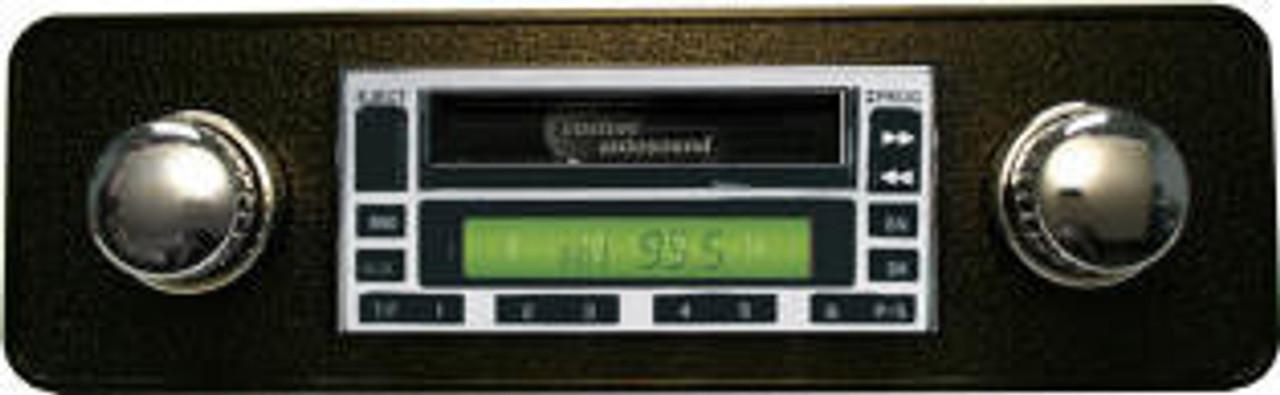 Custom AutoSound USA-230 In Dash AM/FM for MGB