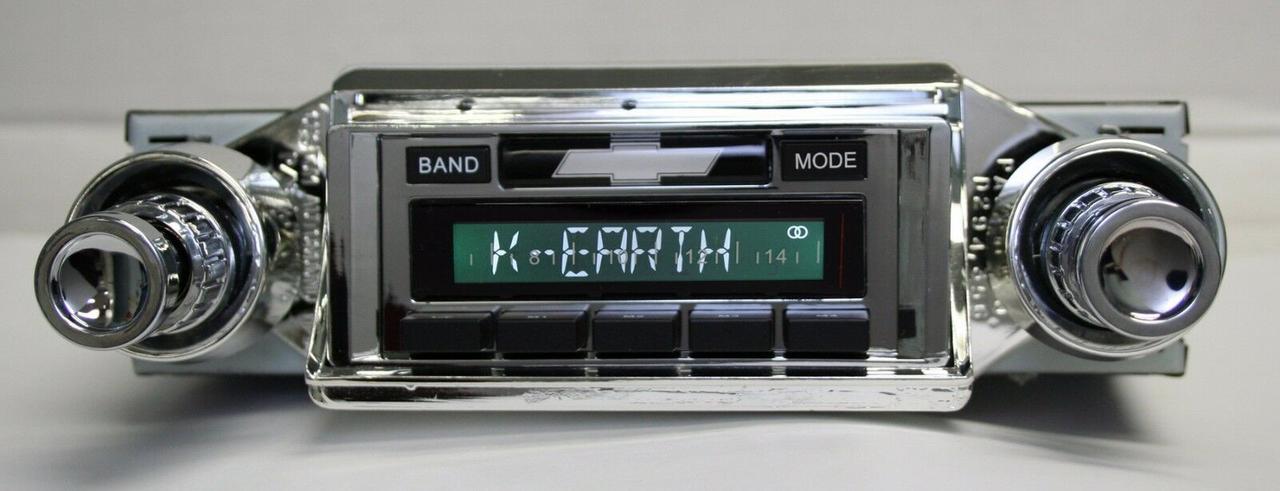 Custom AutoSound USA-230 for a Monte Carlo In Dash AM/FM 27