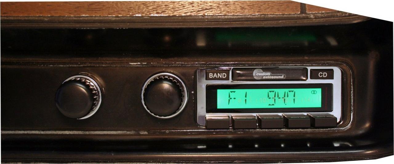 Custom AutoSound USA-630 for Mopar In Dash AM/FM 93
