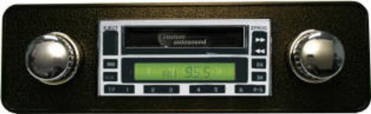 Custom AutoSound USA-230 for Mustang In Dash AM/FM 27