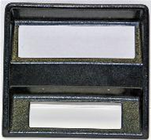 KHE 1969 and 70 Mustang CD Bezels (non console) Black with bluetooth