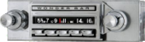 Repro 1961-62 Chevrolet Corvette Wonderbar AM/FM/Stereo Radio with bluetooth