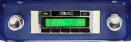 Custom AutoSound 1960-63 GMC Truck USA-630 In Dash AM/FM