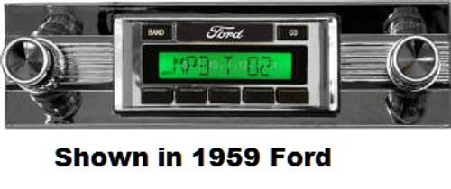 Custom AutoSound 1968-69 Torino USA-630 In Dash AM/FM