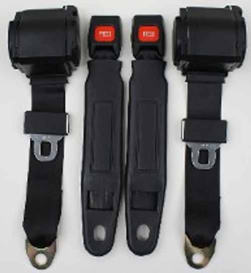 Pre 1974 3pt Conv. Seat Belts w/Plastic Buckle (Call for Prices)