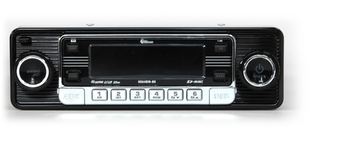 Custom AutoSound USA-4 In Dash AM/FM/CD MP3 2 with Bluetooth