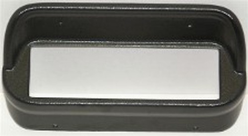 KHE CD Bezels (non console) Black for 1967-68 Mustang with bluetooth