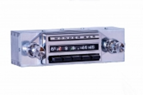 1962 Chevrolet Chevy II & Nova Wonderbar AM/FM/Stereo Radio with bluetooth