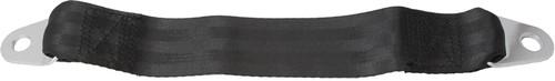 """12"""" Belt Extender For Lap Belts -- Black Webbing"""