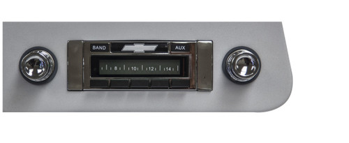 Custom AutoSound 1958 Impala USA-230 In Dash AM/FM