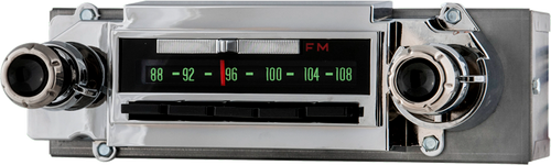 1964-66 Chevrolet and GMC Truck AM/FM Stereo Radio with bluetooth