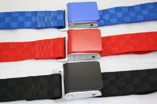 Lap Belts Custom Lift Latch Lap Belts