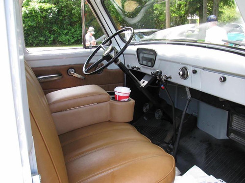 1953-1959 Ford Truck Bench Seat Console & Cup Holder