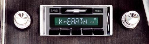 Custom AutoSound 1966 Impala/Caprice USA-630 In Dash AM/FM