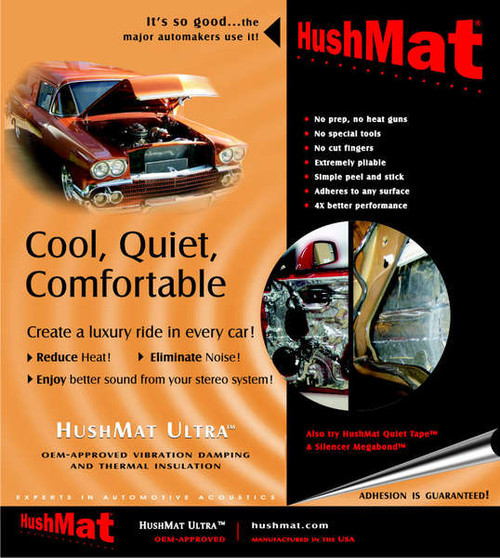 HushMat Ultra Door Kit - Silver - Item #10201