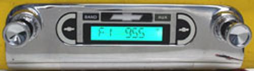 Custom AutoSound 1953-54 Belair USA-230 w/o OEM PB Radio AM/FM