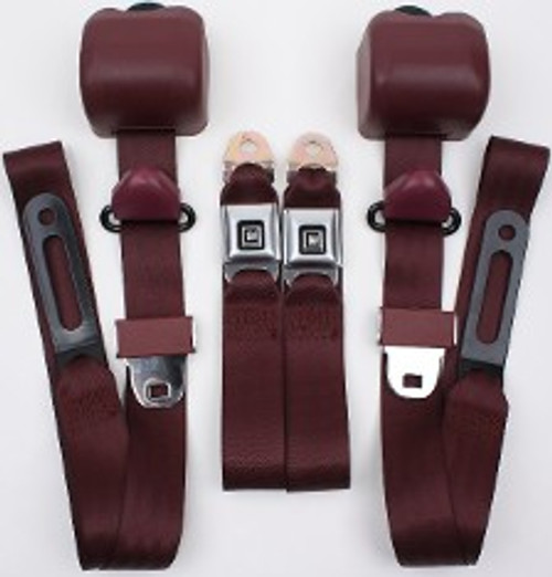 3pt Seatbelt w/GM Buckle Style