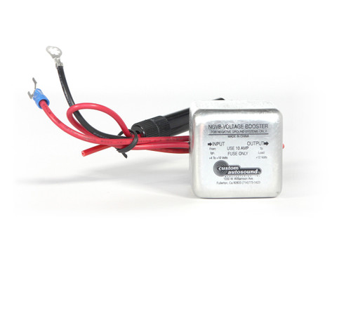 Custom AutoSound Voltage Booster