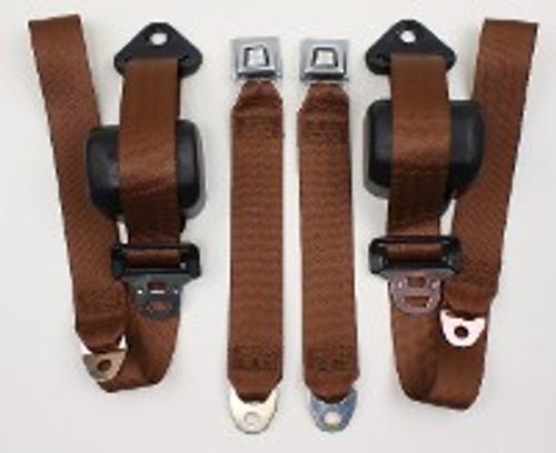 1982-91 Jeep Wrangler Retractor Front Shoulder/Lap Belts