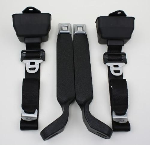 Seatbelt Solutions 1978-79 3pt Frt Bronco Retractable S/L Belts 1