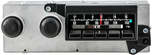 "1971-74 Mopar ""B"" Body AM/FM Stereo Radio with bluetooth"