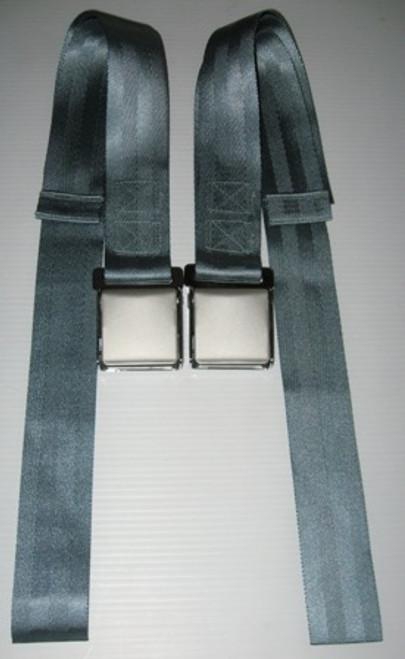 C1 Corvette 58-62 Ham Bone Seat Belt Set