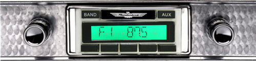 Custom AutoSound 1955-57 Thunderbird USA-230 In Dash AM/FM