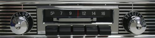 Custom Autosound 1955- 1956   Chevy Belair Slidebar Radio