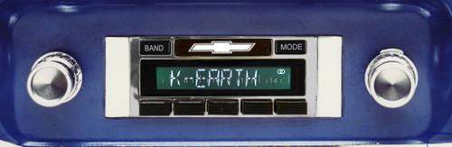 Custom AutoSound 1964-66 Chevy Truck USA-630 In Dash AM/FM