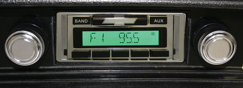 Custom AutoSound 1968 El Camino USA-230 In Dash AM/FM