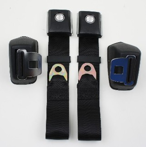 Seatbelt Solutions 1968-77 Ford Bronco Retractable Lap Belts 1