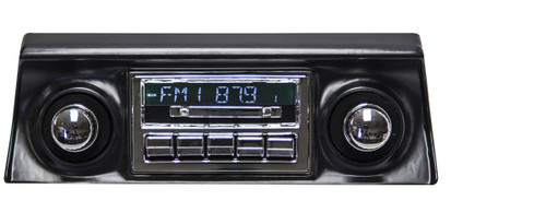 Custom Autosound Slidebar Radio for '68-'82 Corvette