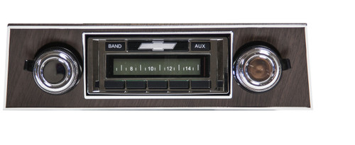Custom AutoSound 1967-68 Camaro USA-230 In Dash AM/FM