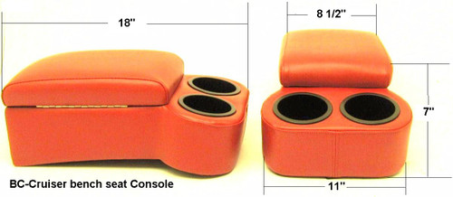 1949-1993 Dodge Truck Bench Seat Console