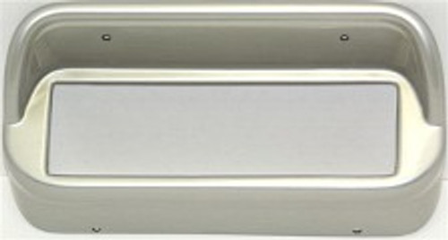 KHE CD Bezels (non console) Silver for 1967-68 Mustang with bluetooth
