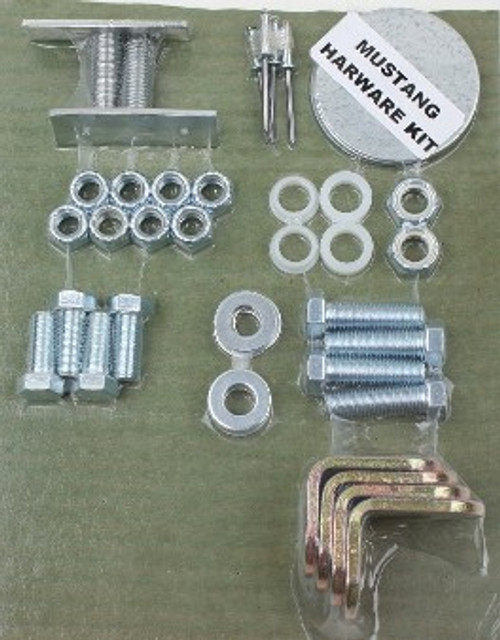 3pt Conv. Hdware for Pre 1974 Mustang Seatbelts -Call for Prices