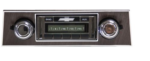 Custom AutoSound 1969-77 Camaro USA-230 In Dash AM/FM