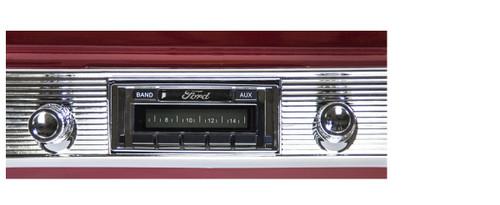 Custom AutoSound 1953-54 All Fords USA-230 In Dash AM/FM