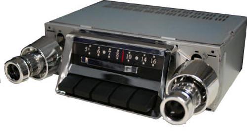 Custom Autosound 1957 Chevy Belair Slidebar Radio